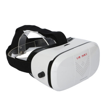 Buy VR MAX Box 3D Virtual Reality Glasses Headset Movie Game Helmet 4.0 6.0 Inch Mobile Phone