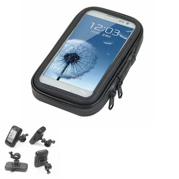 Motorcycle Phone Holder Navigation Waterproof Touch Bag For Galaxy
