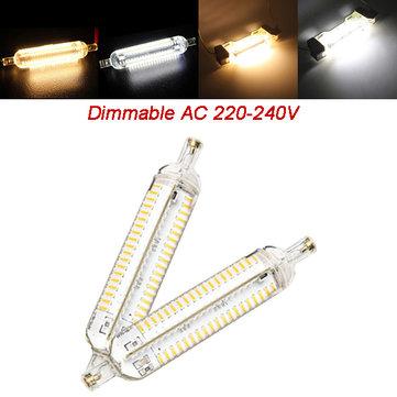 R7s 118 milímetros de milho dimmable lâmpada 10w 152 SMD 4014 branco puro / morno lâmpada de luz branca AC 220V-240V