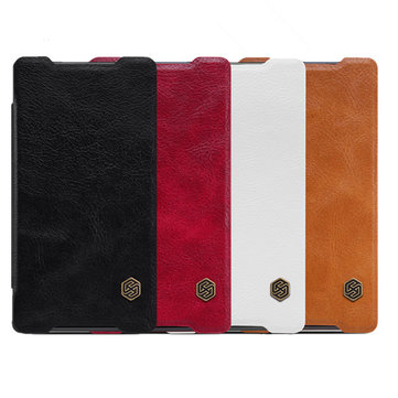 Buy NILLKIN QIN Leather PU Case Cover Sony Xperia Z5 Compact