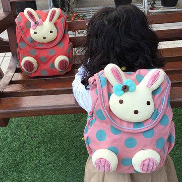 Детский сад дети прекрасный мультфильм хлопка рюкзак ходьба ремни безопасности мешок