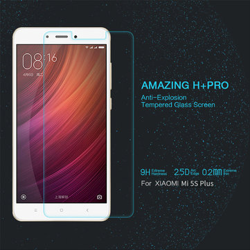 Nillkin H+PRO Anti-Explosion 2.5D Tempered Glass Screen Protector For Xiaomi Mi5s Plus