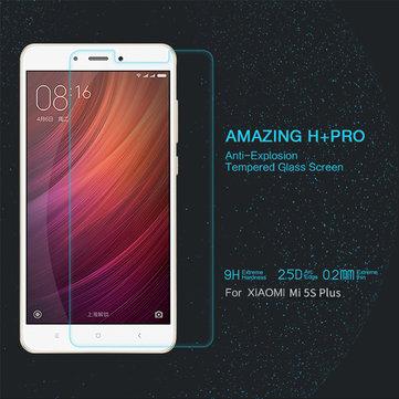 Nillkin ч + про протектор 2.5d закаленное стекло экрана против взрывов для Xiaomi Mi5s Plus