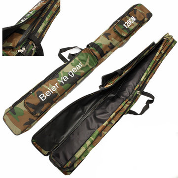 Buy 120cm Camouflage Carp Fishing Rod Tackle Bag Case Padded Holder Luggage Holdall