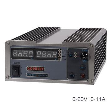 CPS-6011 60v 11a alta eficiência DC ajustável fonte de alimentação