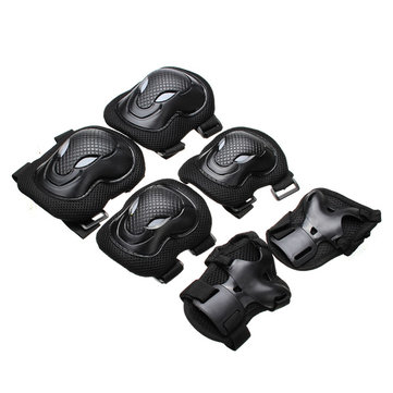 6pcs Knee Pads Elbow Protection Electric Unicycle Practice Gear Guard Pad