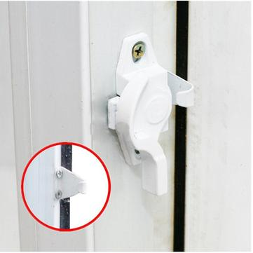 Children Kids Home Aluminum Angle Security Protection Fixed Fixation Sliding Windows Doors Sash Lock Push Pull