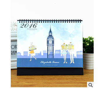Buy 2016 Calendar Table Desk Planner Agenda Stationery Big Ben Mini Paper Home Decor