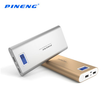 PINENG PN-989 20000mAh DC5V 2.1A Dual Output Power Bank for Samsung Xiaomi