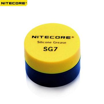 Grasa aceite de silicona linterna NiteCore sg7 para al por menor mantenimiento