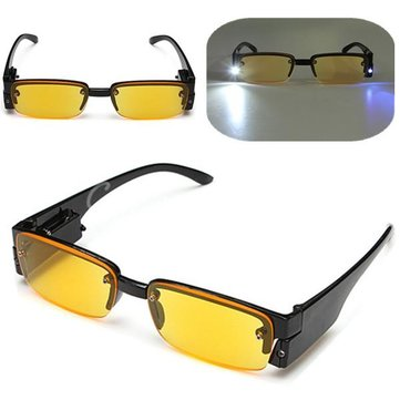 Reading Glasses With Lamp LED Lights Night Vision Glasses