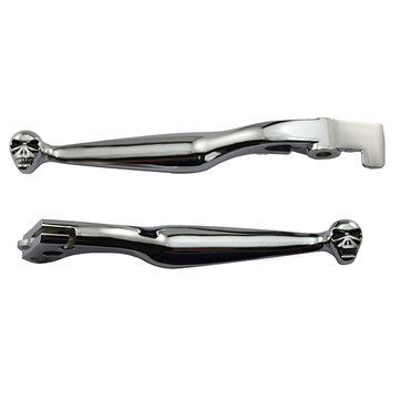 A Pair Motorcycle Handlebar Hand Controls Clutch Lever for Honda