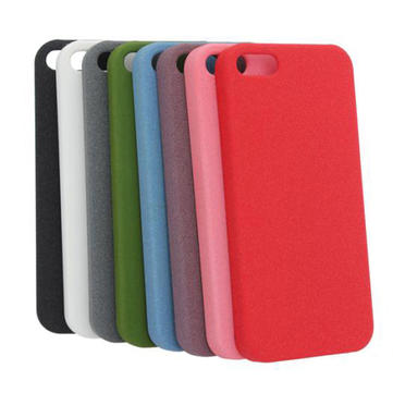 Slim Sand Shell Quicksand Plastic Case For iPhone 5