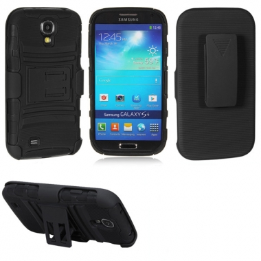 Holster Kickstand For Samsung Galaxy S4 i9500 Free Shipping! - US$5.32
