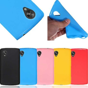 Soft TPU Silicone Gel Jelly Case Back Cover For LG Google Nexus 5