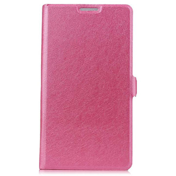 Silk Grain Flip Open PU Leather Case With Stand For Xiaomi Mi3