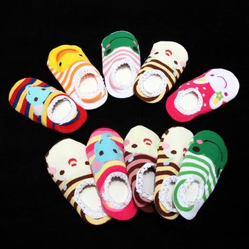 Baby Kid Non-slip Ankle Socks Booties Sox Shoe 6-24 Months