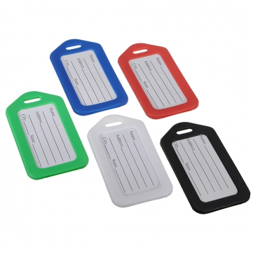 5 Colors Suitcase Luggage Tags Name