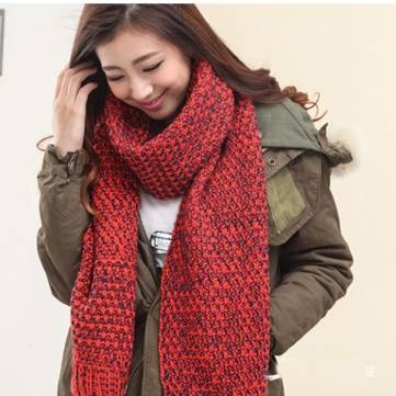 new knitting wool scarves korean thick scarf us