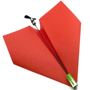 Electric Paper Airplane Conversion Kit Electric Power By PowerUp Gift