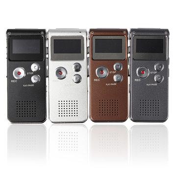 Rubare ricaricabile 8gb 650hr lettore mp3 registratore vocale digitale audio