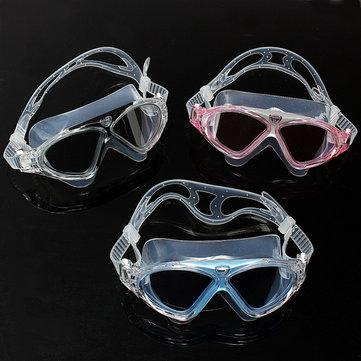 Antiniebla gafas de natación sumergibles grandes gafas cuadro de natación
