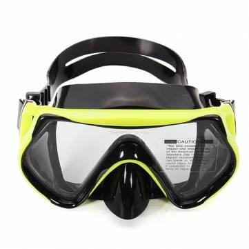 buceo vidrio templado gafas de natación máscara