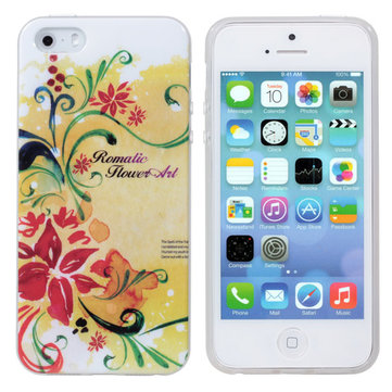 Charming Pattern Protection Soft Back Cover Case For iPhone 5 5S SE