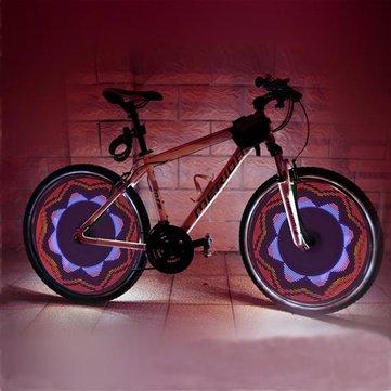 Bicycle Bike Cycling Spoke Light 32 LED 42 Patterns Wheel Light