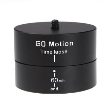 360 Degrees Panning Stabilizer Rotating Tripod