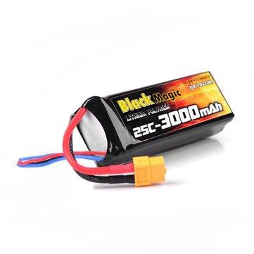 BlackMagic 3S 25C 3000mAh 11.1V Battery
