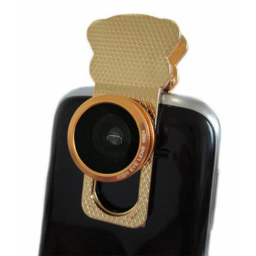 Original Universal 3 in 1 Wide Angle Macro Fish eye Lens For Mobile Phone
