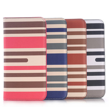 Flip Zebra Leather Wallet Stand Case Cover For Samsung Galaxy S6 G9200