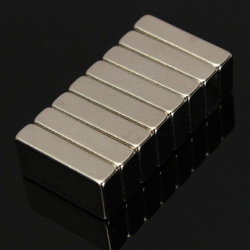 Buy N52 20x10x5mm Neodymium Block Magnets Rare Earth