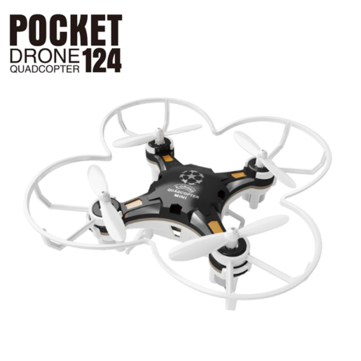 FQ777-124 Pocket Drone 4CH 6Axis Gyro Quadcopter With Switchable Controller RTF