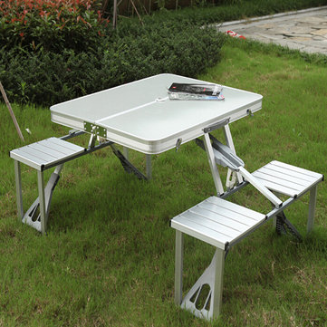 outdoor camping hiking folding table picnic fold up. Black Bedroom Furniture Sets. Home Design Ideas