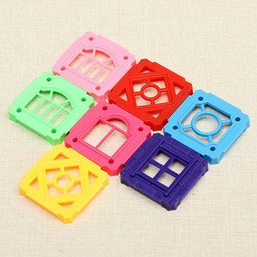 Buy Square Blocks Bricks Building Magnetic Castle Parts Toy 3