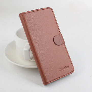 PU Litchi Pattern Leather Protective Case