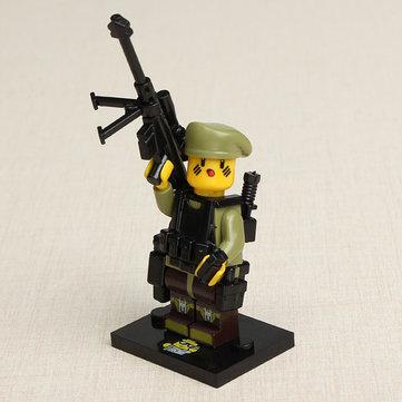 Buy Xiaomingxing Mini Sniper Figures Gun Genesis Bricks Chief/Captive/Center Blocks