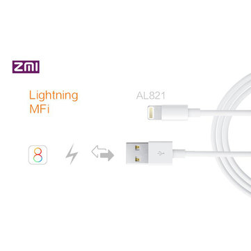 Original Original Xiaomi ZMI MFI 8-pin Gold-plated Apple Lightning To USB Cable For iPhone iPad