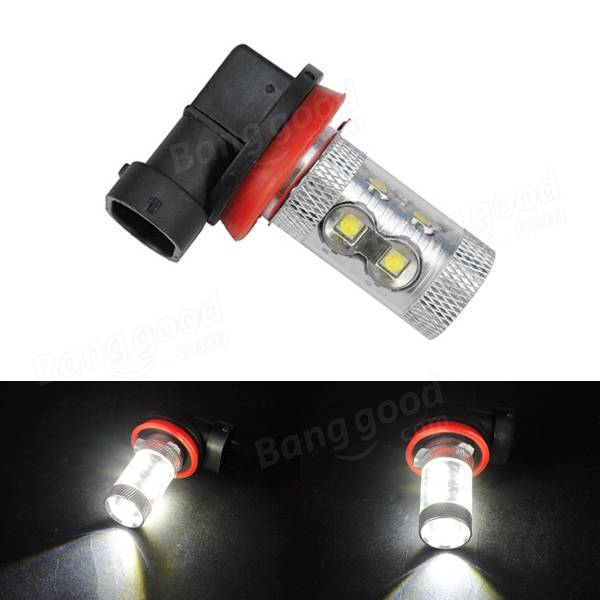 H11 DC12V 960LM Car White 10LED Fog Light Bulb