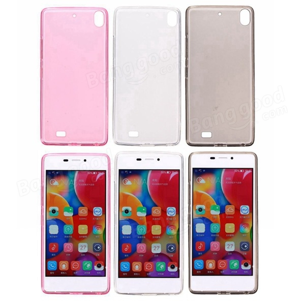 Slim TPU Soft Back Cover Case For Elife S5.1 GN9005