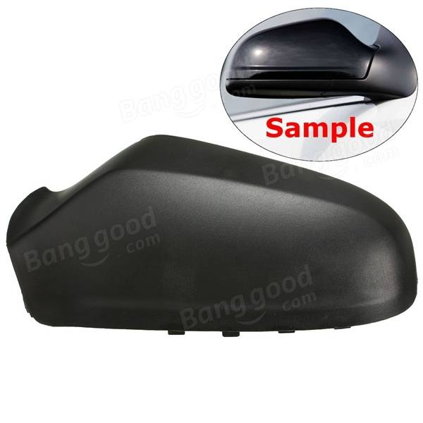 Door Wing Mirror Left Side Cover Casing Cap Black for VAUXHALL ASTRA H 04-09