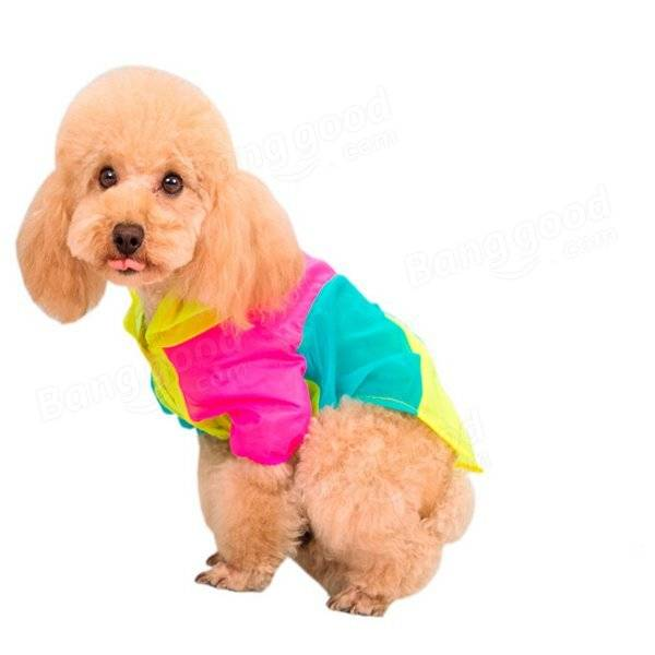 Summer Dog Clothes Pet Dog Sun Protective Clothing Air