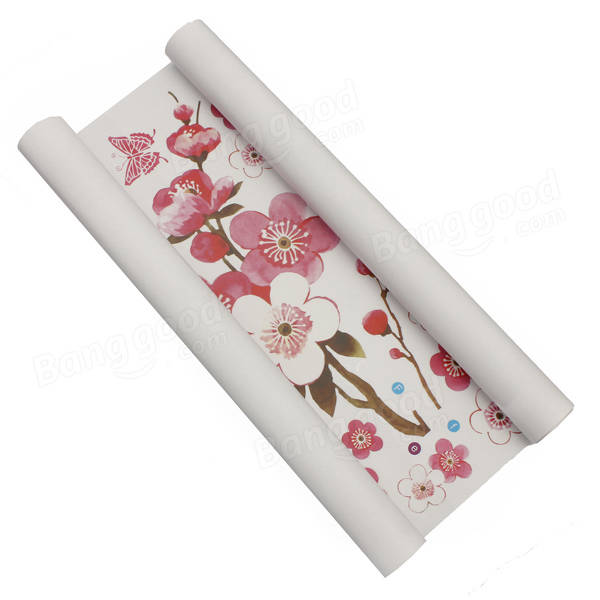 Plum Blossom Butterfly Wall Stickers Removable Decal Home
