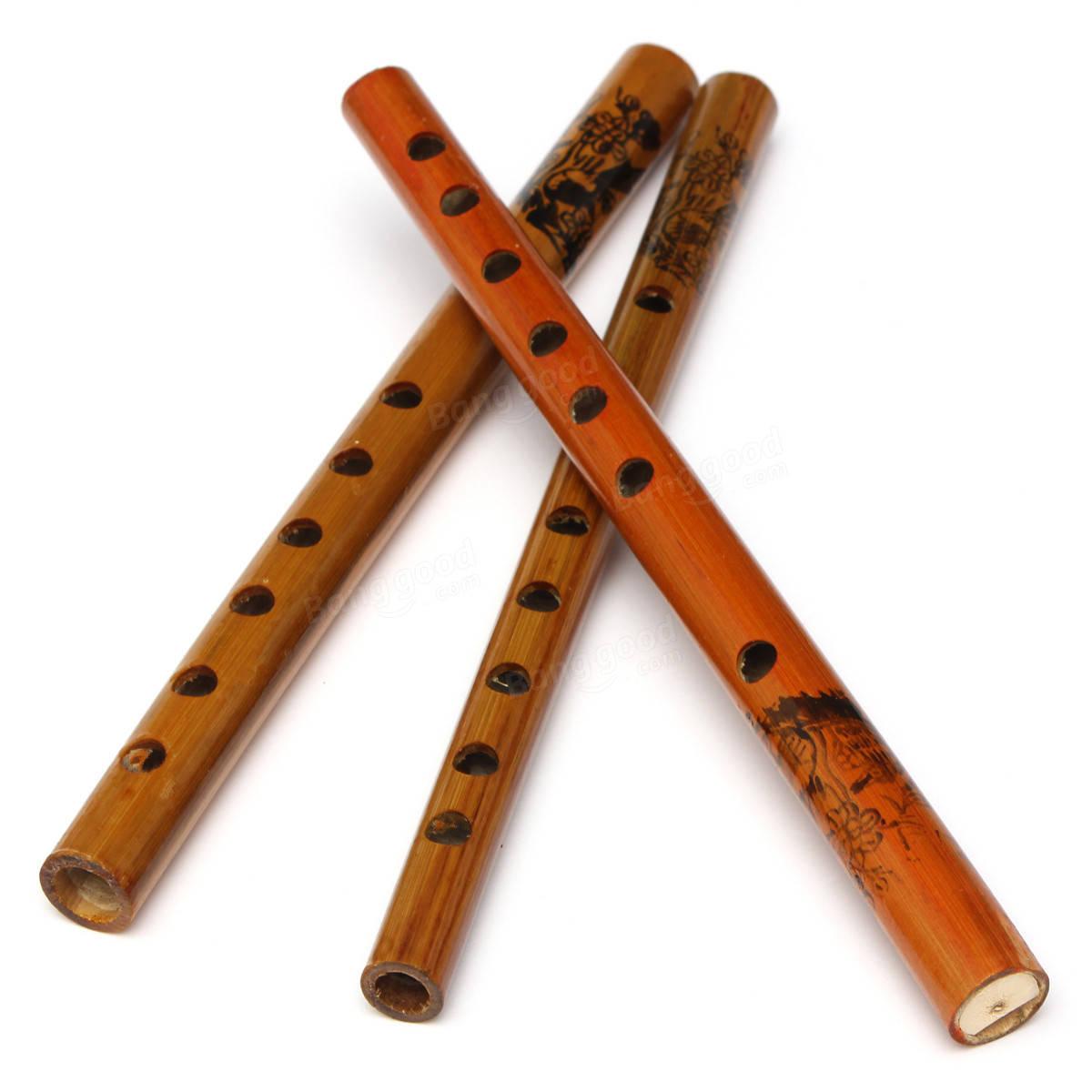 Traditional 6 Hole Bamboo Flute Clarinet Sale Banggood com