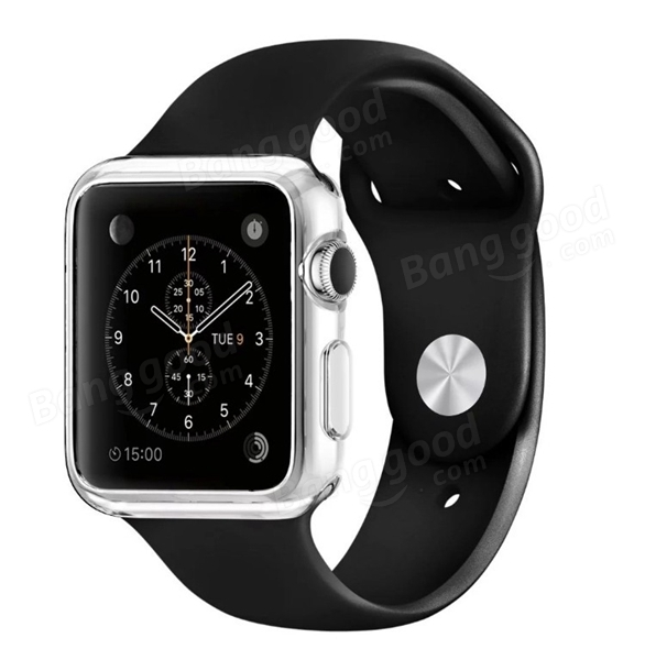 Transparent Ultra Thin Clear Soft 38MM/42MM iWatch Case Cover Protection