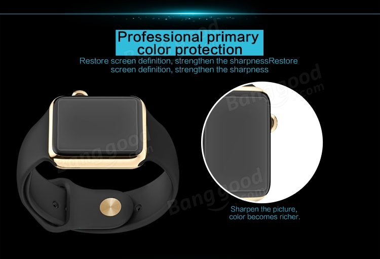 Nillkin Super Clear Anti- fingerprint Protective Film For Apple Watch 38mm