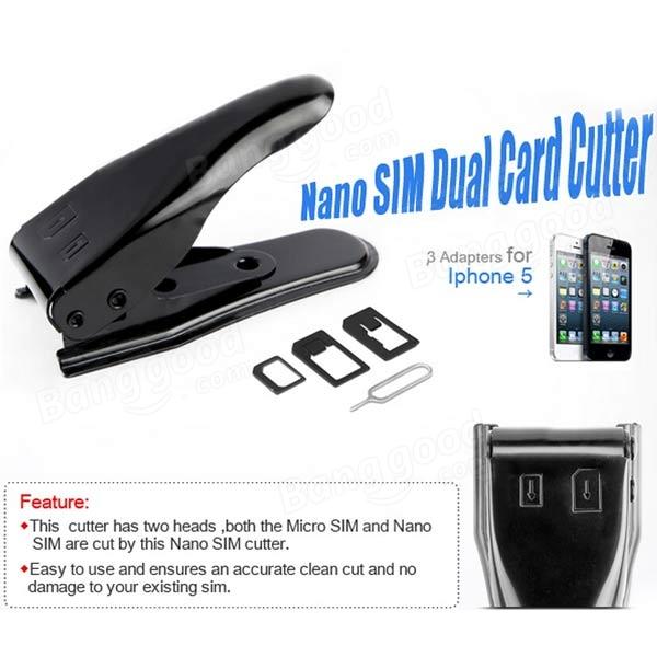 iPhone4 Card Cutter