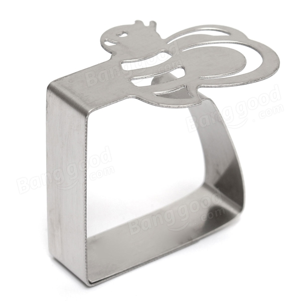 4pcs Stainless Steel Bee Tablecloth Clips Table Cover